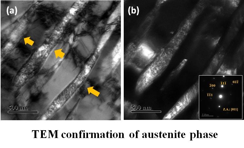 Bright fieldTEM micrograph